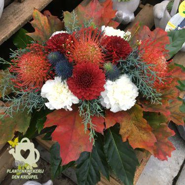 herfstkleuren-bloemstuk